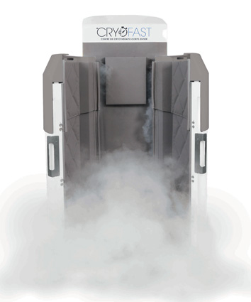 machine de cryotherapie brandée cryofast - cryausauna