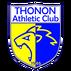 logo du thonon athletic club, partenaire du centre de cryotherapie Cryofast Thonon-les-bains