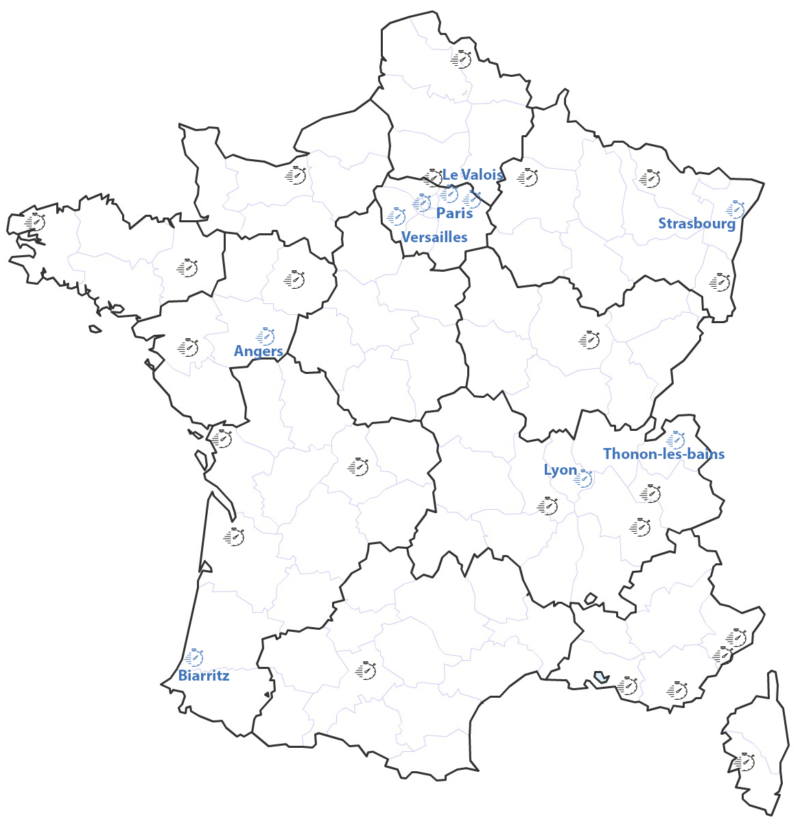 France-regions-departements
