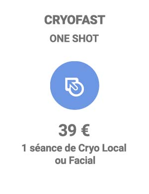 Cryothérapie One shot